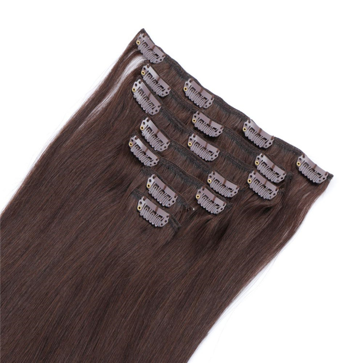 How to Care for Clip in Hair Extensions QM119