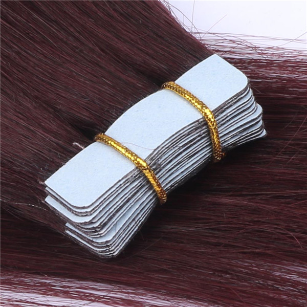 Tape in Remy Human Hair Extensions LJ041