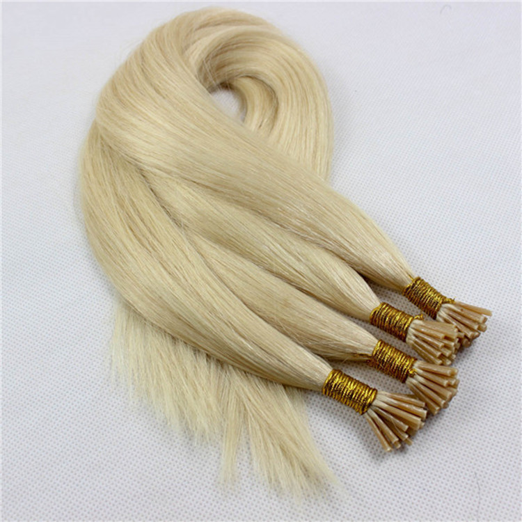 Wholesale double drawn prebonded hair extension SJ0050