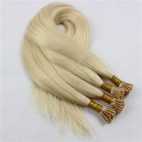 Best clip in hair extensions for short hair remy i tip cuticle human hair factory SJ0018