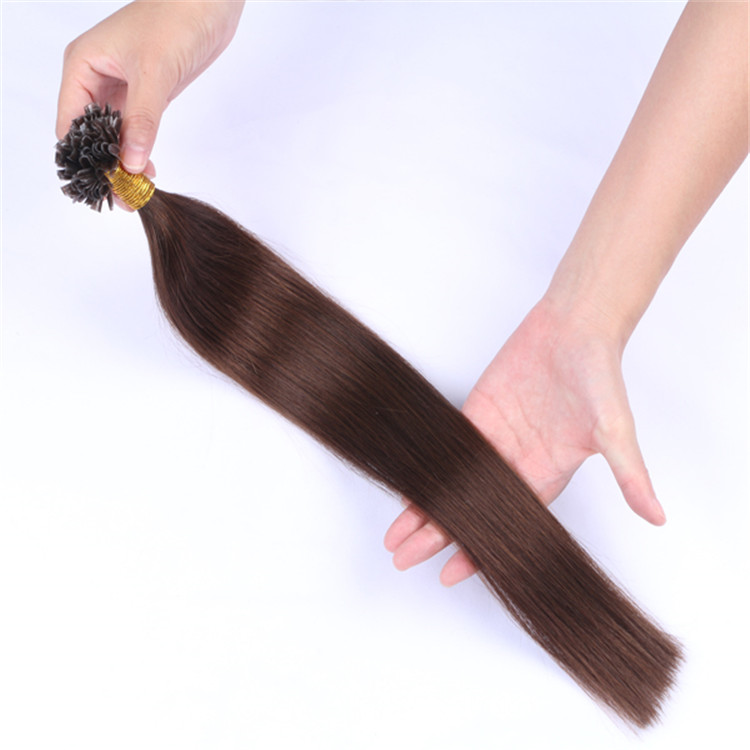 top quality keratin fusion u tip hair extensions suppliers price QM053