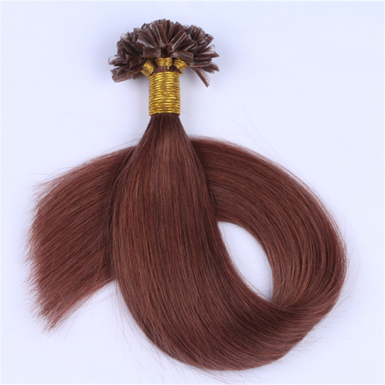 china remy keratin full cuticle u tip hair extensions manufacturers QM060