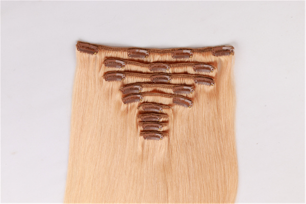 EMEDA real hair clip in extensions JF192