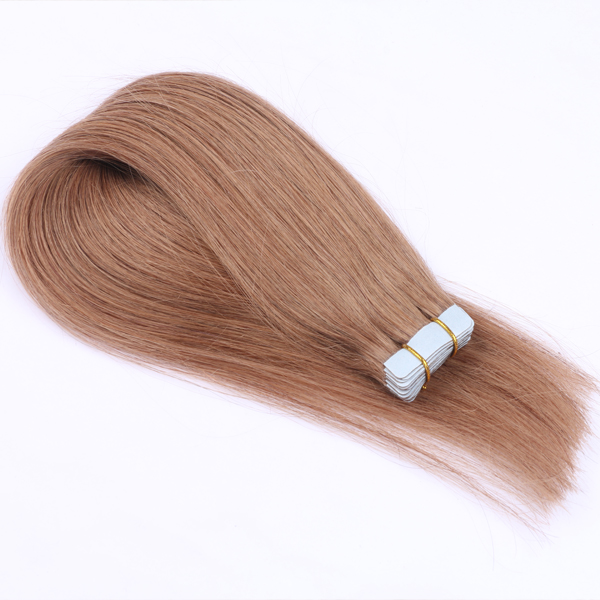 Tape hair extensions with virgin remy top hair hot sell in Europe USA and Australia JF0215