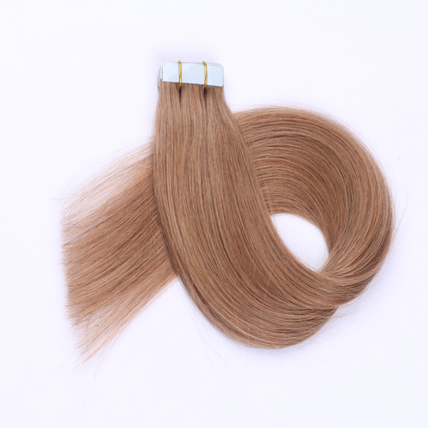 Super smooth great hair extensions luxury hair extensions strong hair and tape JF0265