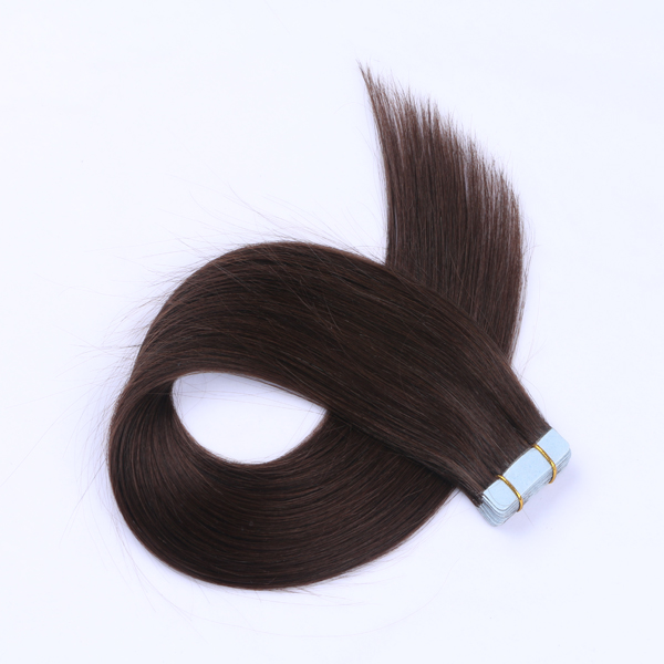 Double Drawn Tape Human Hair Extensions JF036