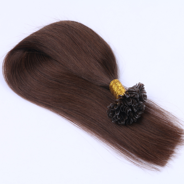 Double Drawn Hair Extensions Keratin JF083