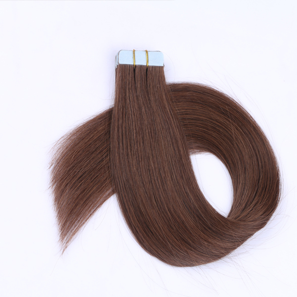 Tape In Hair Should Caring For Tape Hair Extensions  manufacturers JF101