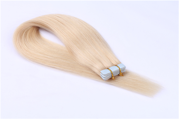 Full end double drawn Highest quality Russia hair tape in hair extensions JF0261
