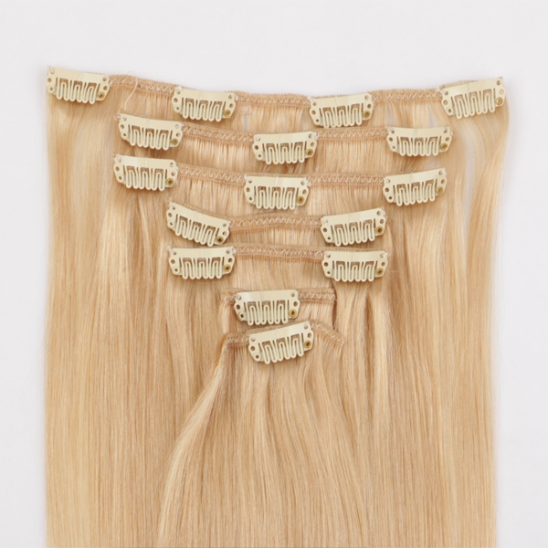Hair extension clips black hair extensions virgin hair extensions JF307