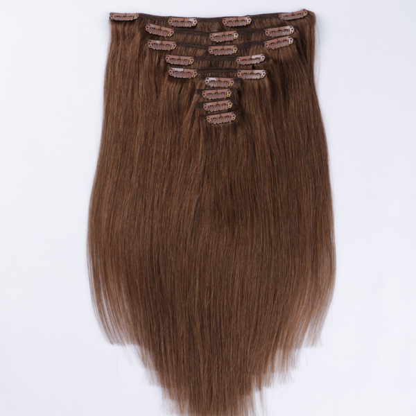 Cheap clip in human hair extensions JF300