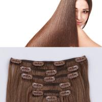 Cheap extensions saga hair human remy weave clip in hair extensions JF323