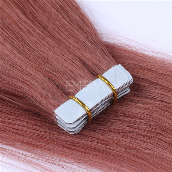 Human Hair Extensions Tape LJ039