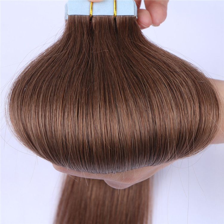 China wholesale tape human hair extension suppliers QM152
