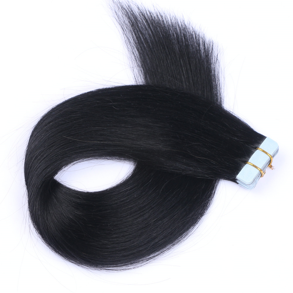 wholesale tape in human hair extensions factory QM147