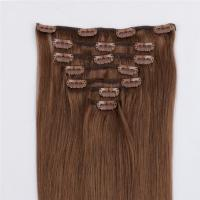 china clip in human hair extensions 120g manufacturers QM134