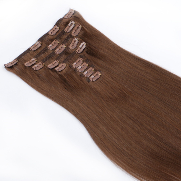 Long clip in human best weave hair extensions near me SJ0071