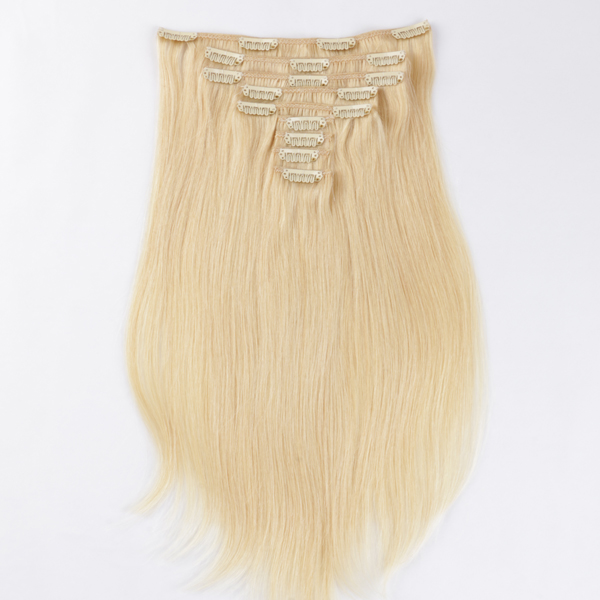 cheap clip in extensions human hair remy clip in hair extensions canada JF292