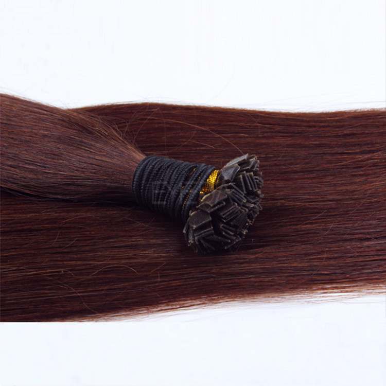 China flat tip hair extensions suppliers flat tip fusion hair extension manufacturers SJ009