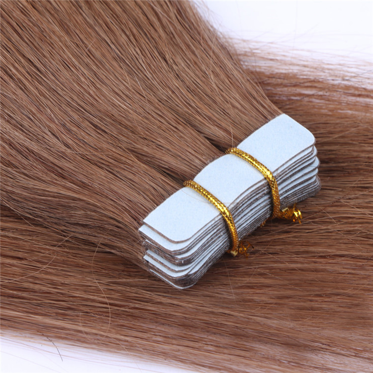 china double drawn remy tape in hair extensions factory QM013
