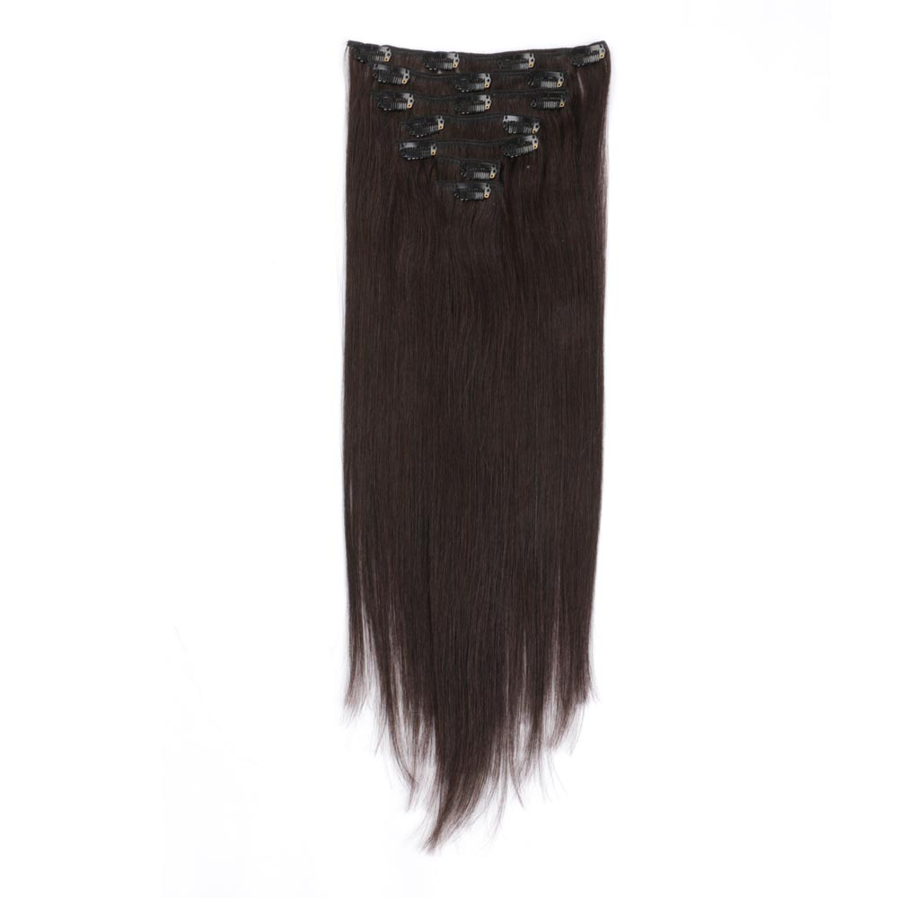 China hair extensions clip in suppliers QM136