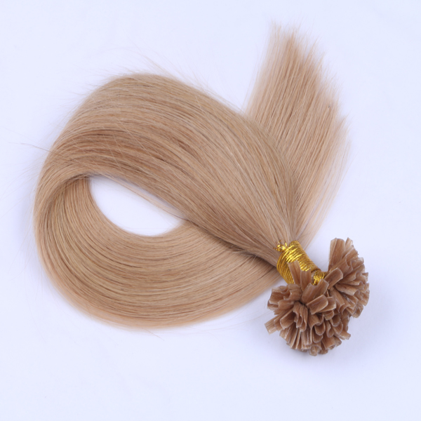 China keratin human hair extension factory JF271