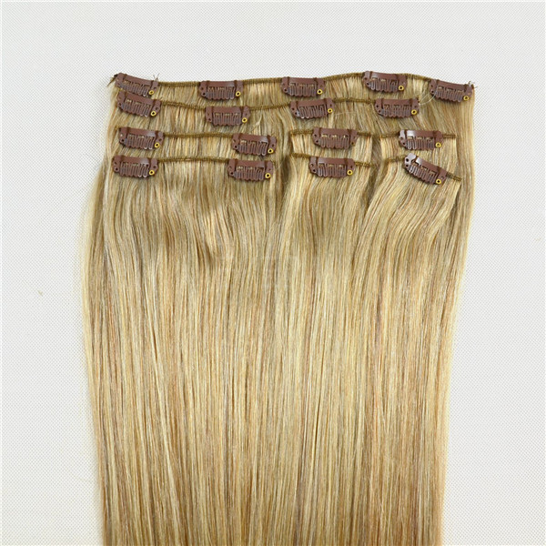 EMEDA double drawn clip in hair extensions JF002