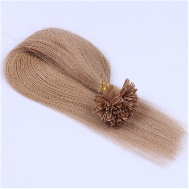 wholesale China top quality colored ones u tip hair extension QM059