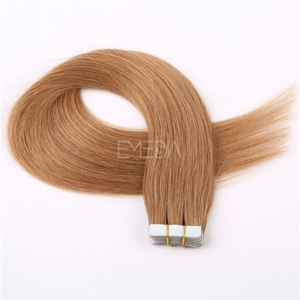 Tape in hair extensions for white women LJ001