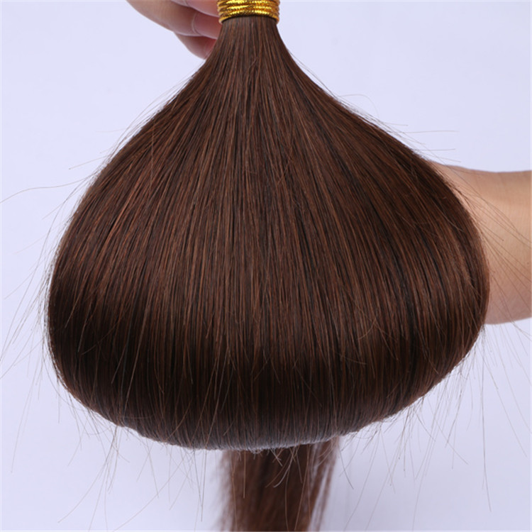 China double drawn mini i tip hair extensions suppliers wholesale QM043