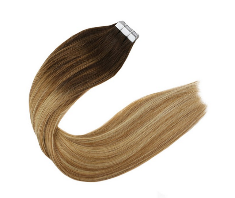 Factory supply tape in hair extensions ombre color 16 18 20 22 24 26 inch JF331
