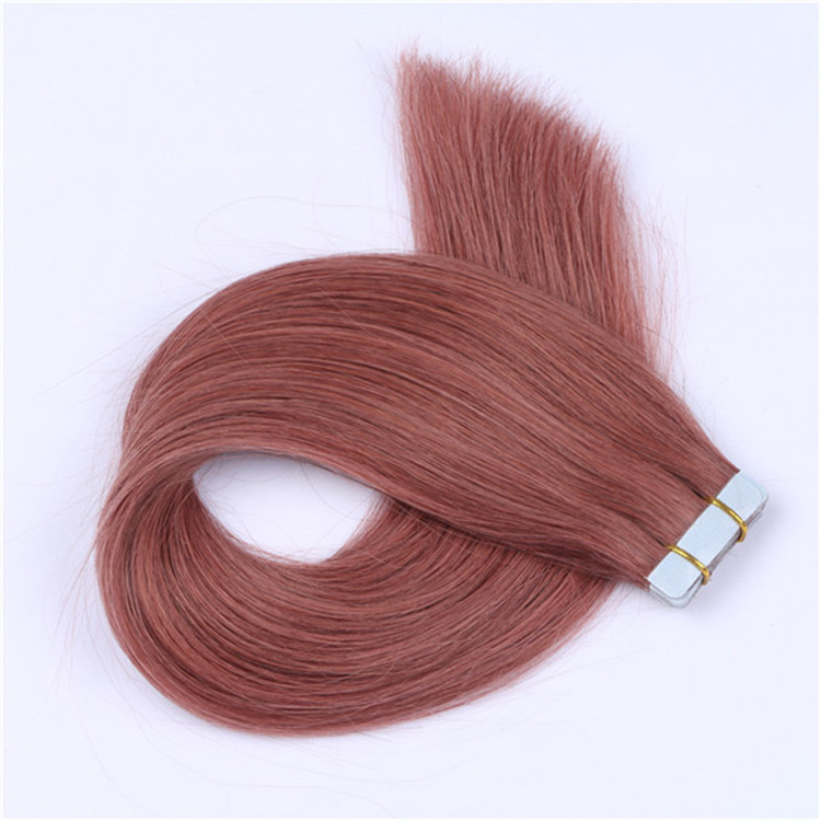 China wholesale tape in human hair extensions remy 40 pieces factory QM087