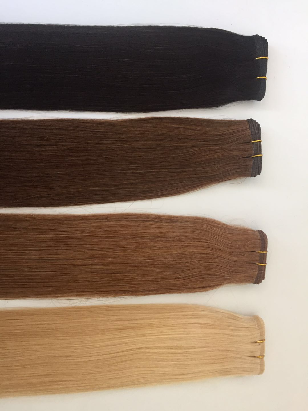High Quality Tape In Human Hair Extensions Seamless Remy Human Hair Extensions Invisible lace hair extensions in stock QM190