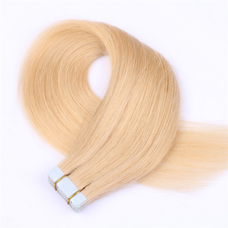 china remy best tape in human hair extension factory QM014