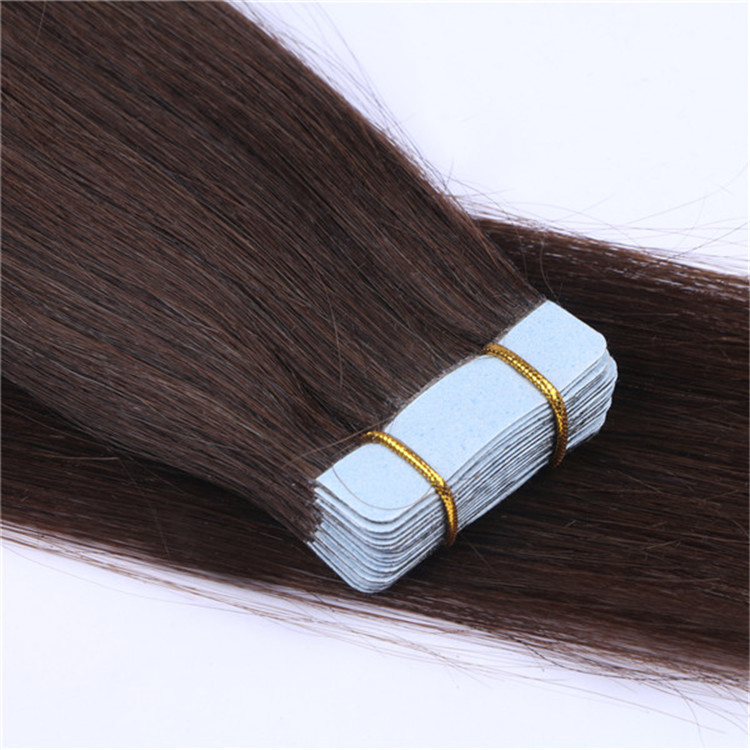 Indian double sided wholesale tape hair extensions factory QM005
